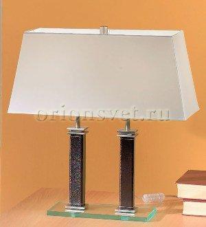 Лампа настольная (Garda decor) белый металл 60 см